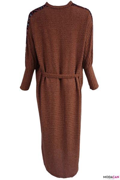 Kol Şeritli Salaş Elbise