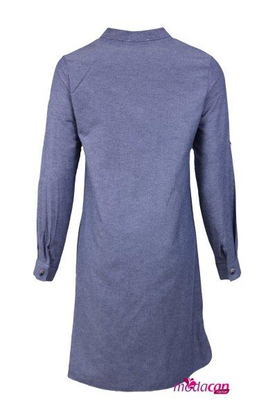 Yaka İpli Gömlek