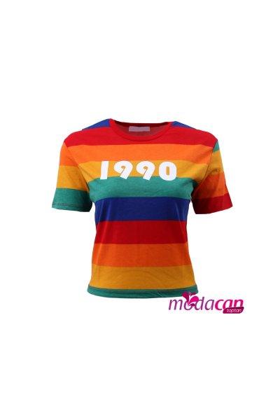 1990 Baskılı Tişört