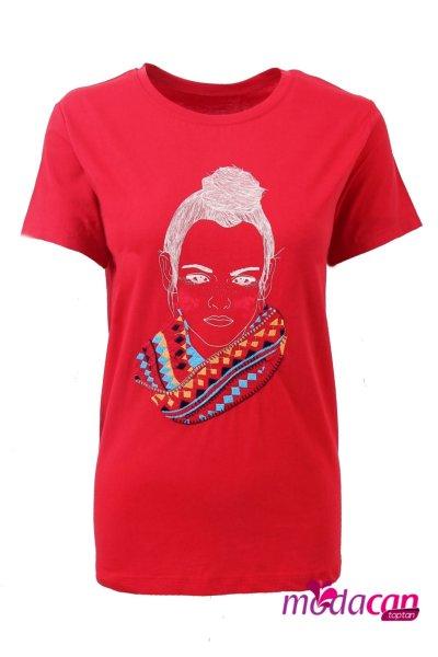 Kız Baskılı Tişört