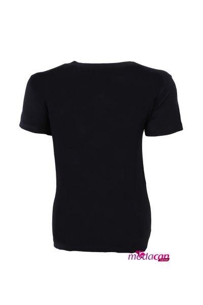 Üçgen Pullu Tişört