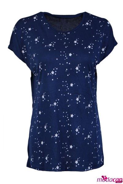 Yıldız Baskılı Tişört