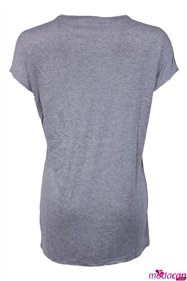İmza Baskılı T-shirt