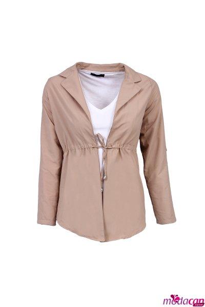 Bağlamalı Ceket