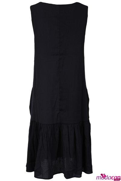 Etek Volanlı Elbise