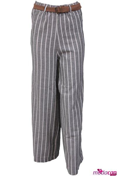 Çizgili Salaş Pantolon