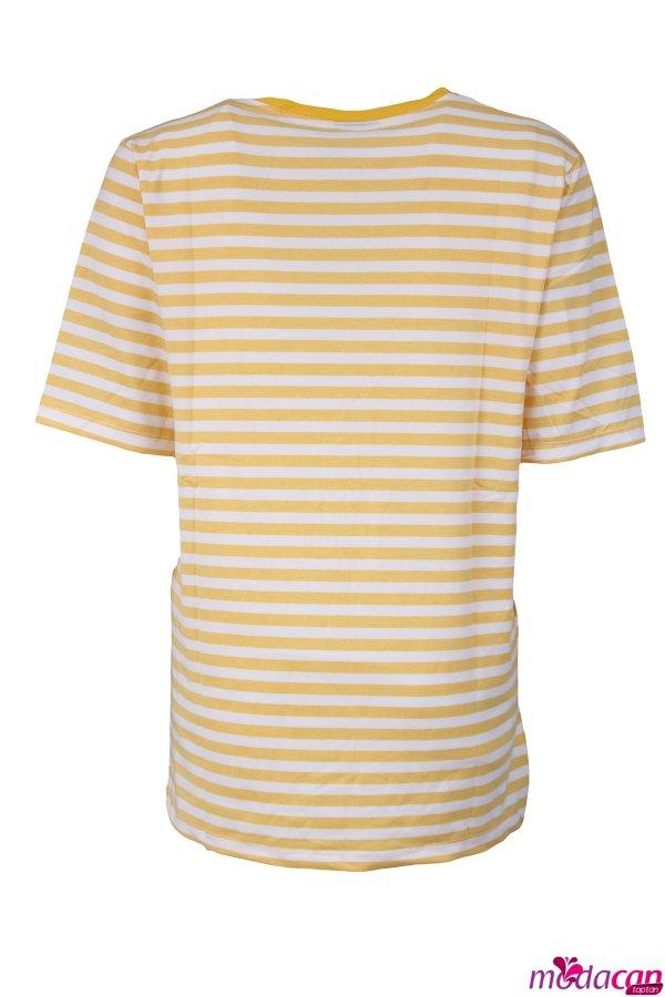 Çizgili Tişört