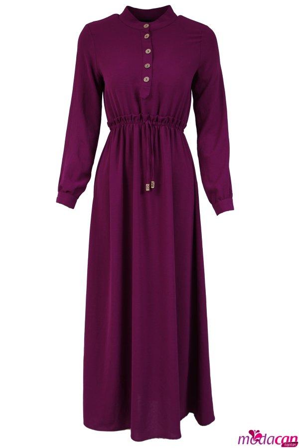 Ön Düğmeli Elbise