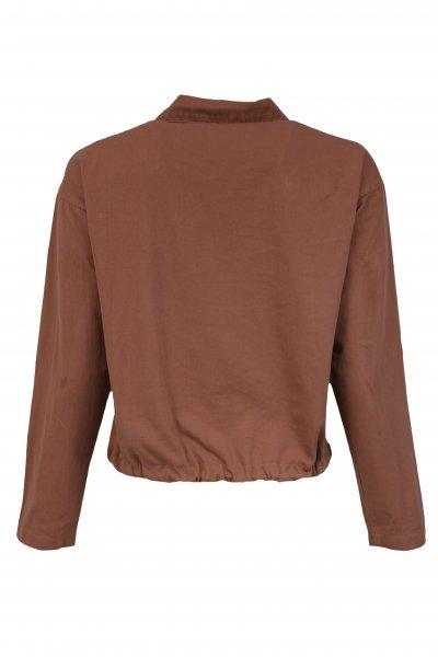 Bağlamalı Düğmeli Ceket