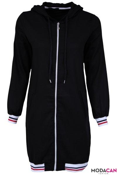 Fermuarlı Kap Ceket