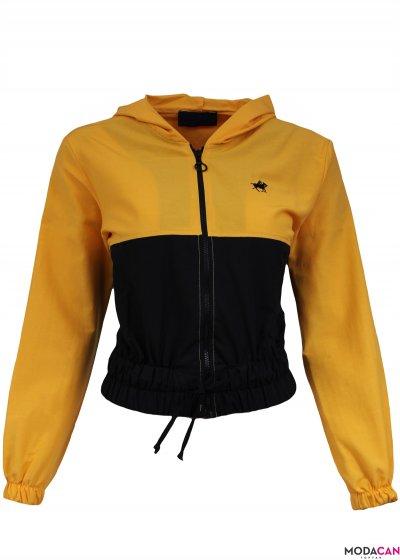 Çift Renkli Ceket