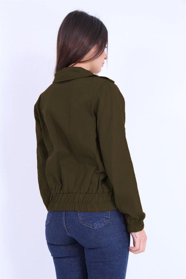 Cepli Kısa Ceket