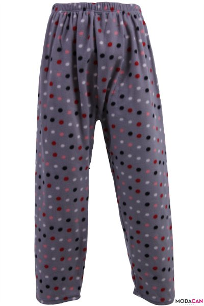 Desenli Polar Pijama ( Battal Beden )