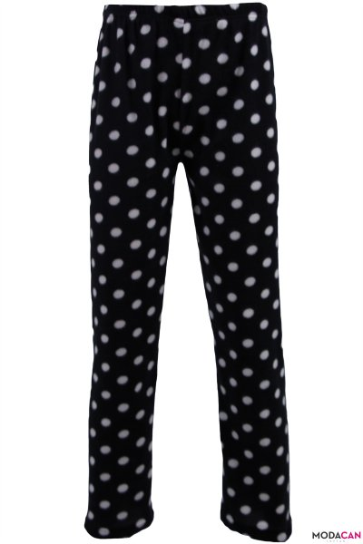 Desenli Polar Pijama Altı