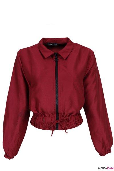 Bağlamalı Kısa Ceket