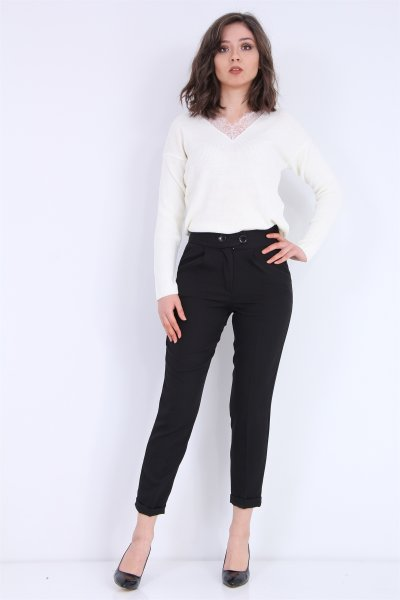 Duble Paça Klasik Pantolon