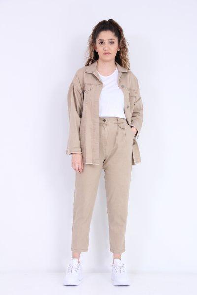 Kanvas Pantolon Ceket Takım
