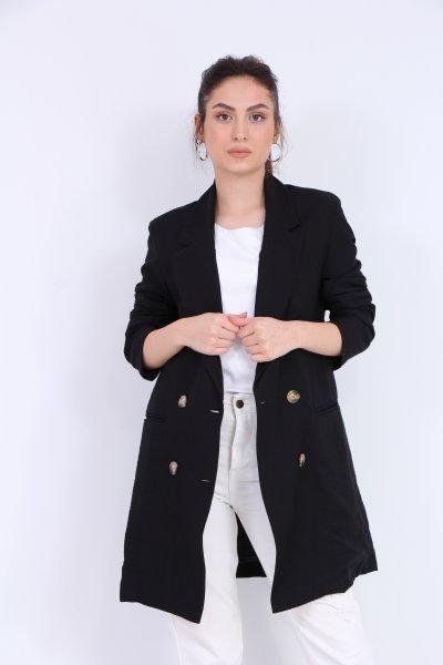 Ön Düğmeli Ceket